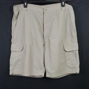 Cargo Shorts/Khaki/Size: 40 (542)